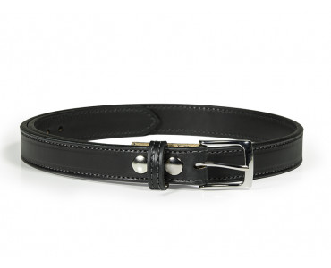 Slim Steel Dress Gun Belt - Black