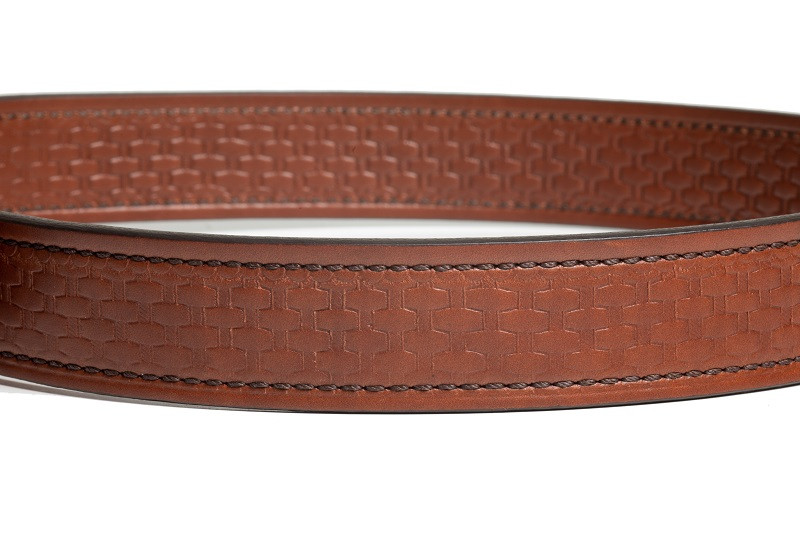 basket weave pattern gun belt
