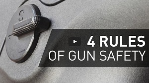 4 rules of gun safety