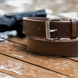 gun belt leather care