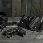 IWB holster with gun belt