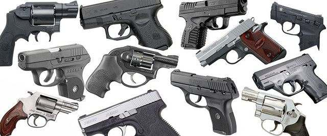 Pick the best handgun for the task