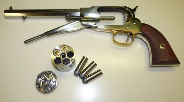 cartridge conversions for black powder revolvers