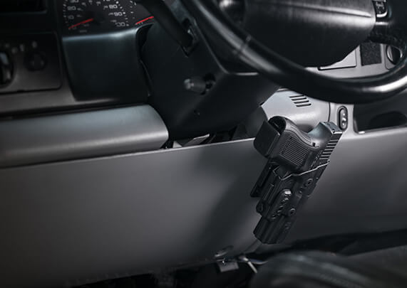 Alien Gear Holster's ShapeShift Multi-Surface Mount