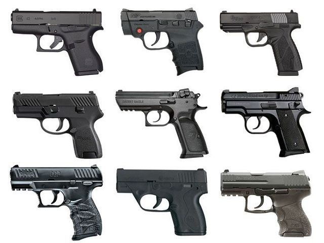Picking your concealed carry pistols