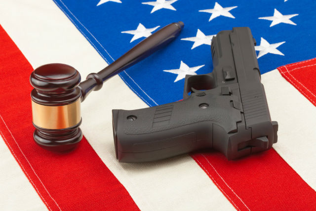 Court cases and guns