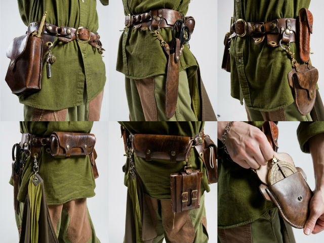 Mediaval Adventurer's Tool Belt