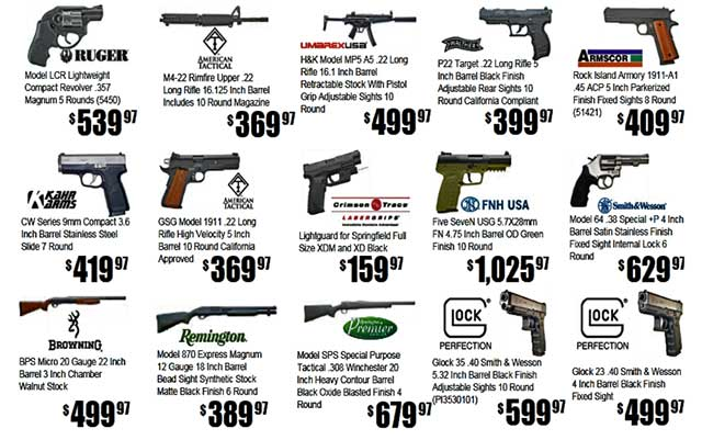 Pricing your gun for sale
