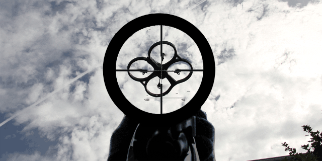 Aiming at a Drone