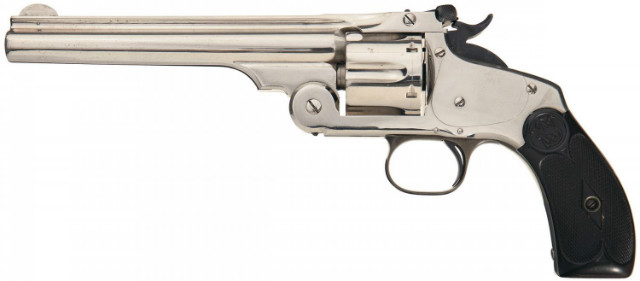 Smith & Wesson Model 3 Revolver