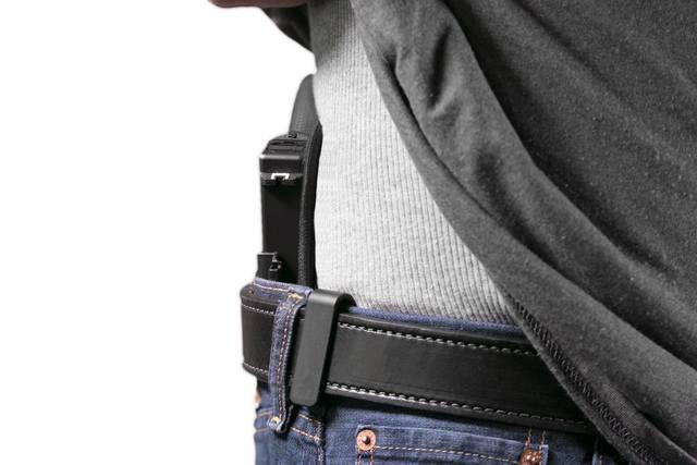 A good holster like the ShapeShift coupled with Bigfoot's Gun Belt