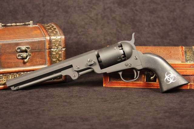 Throwbacks with firepower, black powder revolvers