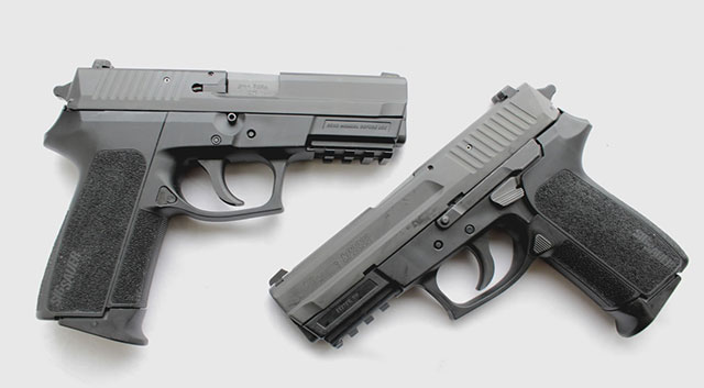 You can get two SP2022's for the price of one P229