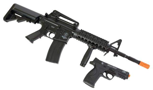 Defending yourself with airsoft guns