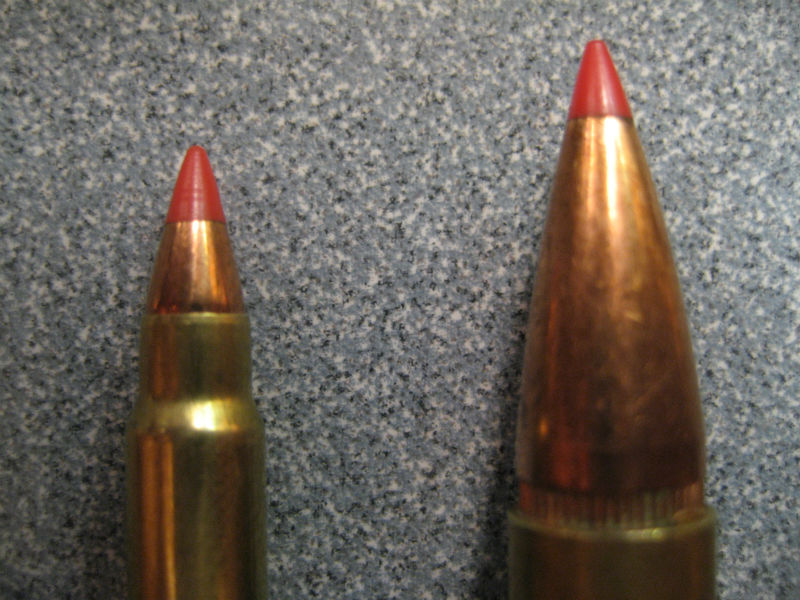 application of polymer tipped bullet