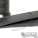 quality leather gun belt with high quality materials