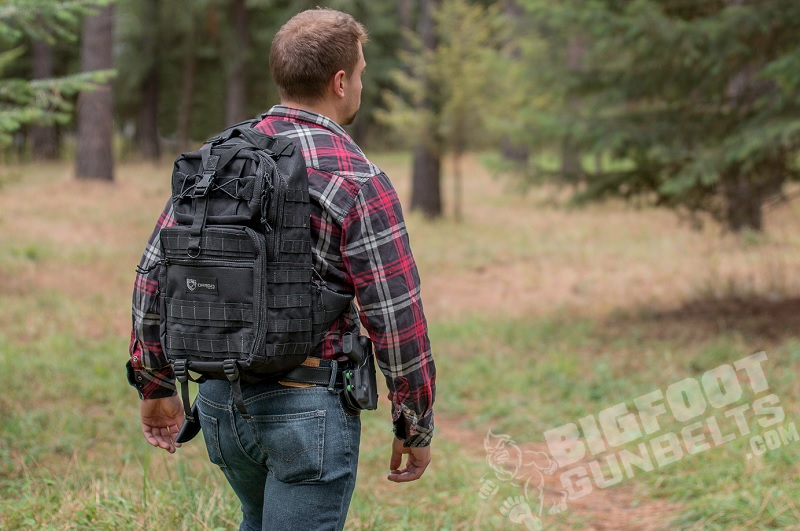 why carry an extra gun while hunting