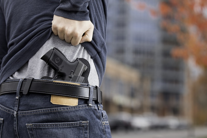 concealed carry conditions with the best gun belt