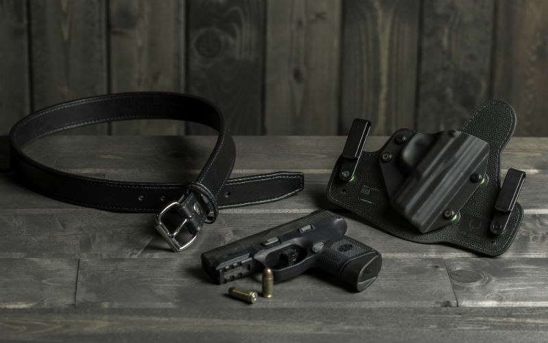 do you remove your holster when you carry