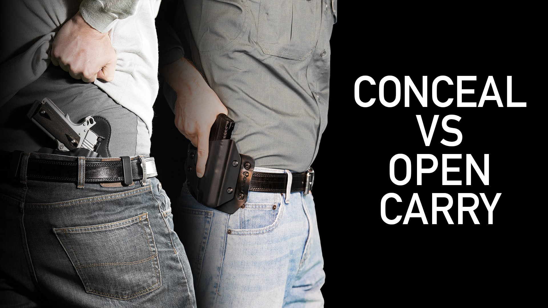 Concealed Carrying vs Open Carrying