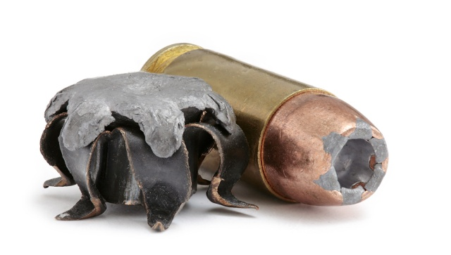 how hollow point ammo expands