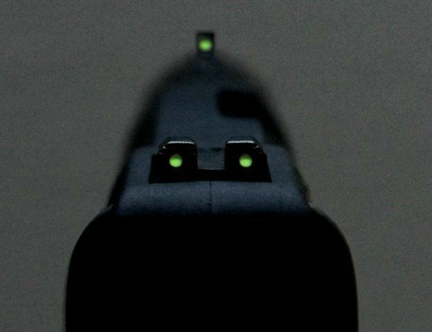 fiber optic gun sights