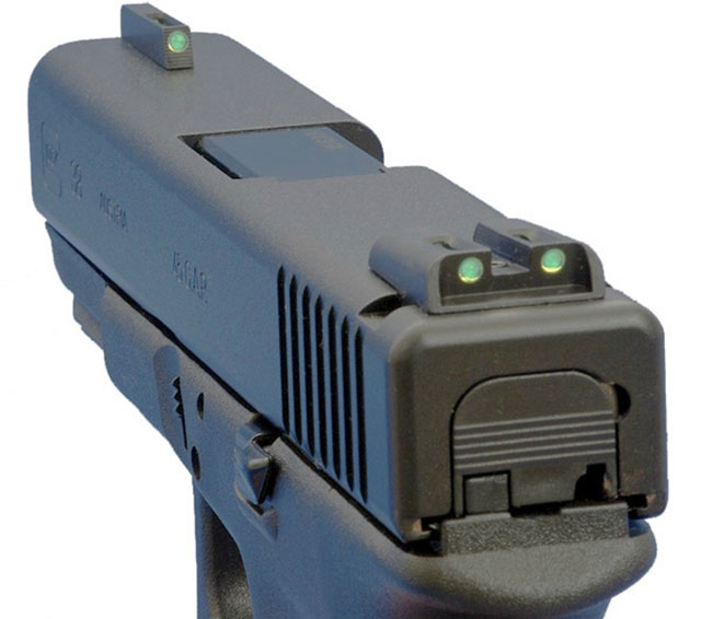 changing handgun sights