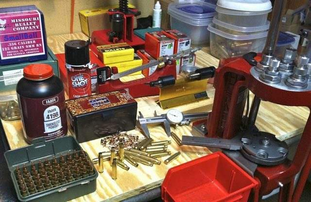 getting started with ammo reloading