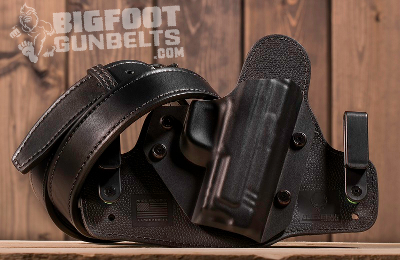 holster and gun belt for ccw