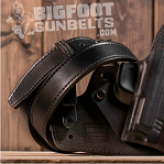 gun belt and pistol holster