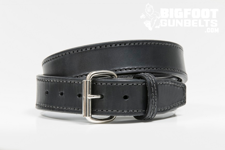 how to care for a leather gun belt