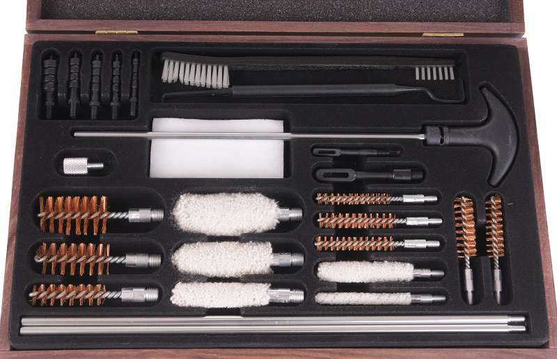 gun cleaning kit required to clean firearm
