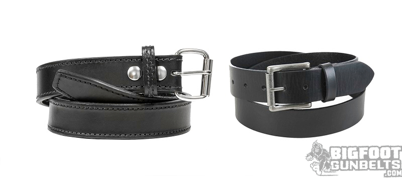 gun belt and regular belt
