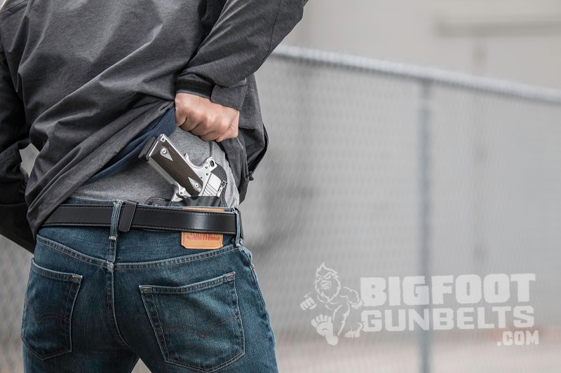 steel core gun belt