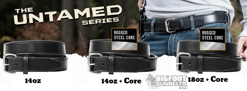different gun belts