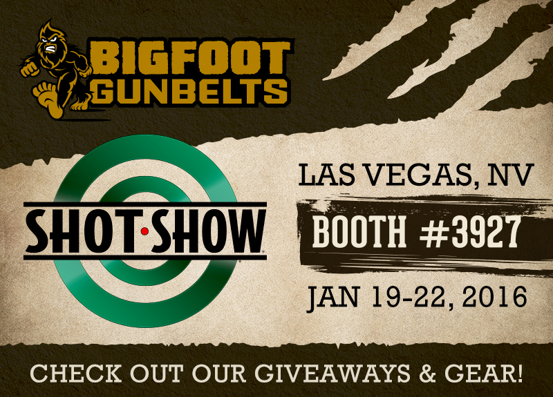 gun belts at shot show