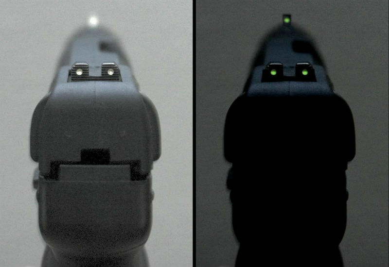 best pistol night sights