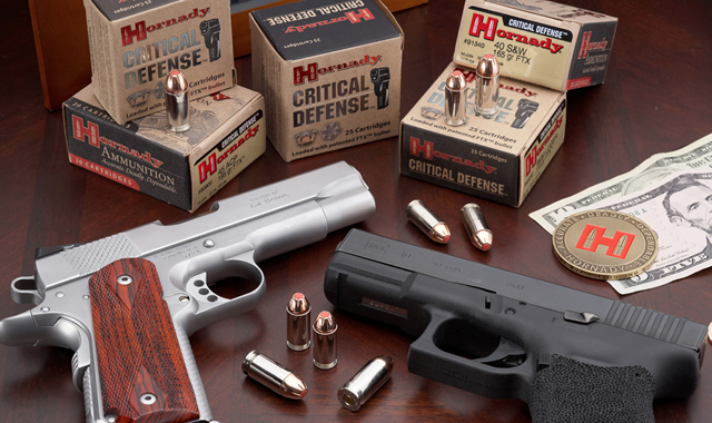 Hornadys critical defense round is geared towards concealed carry