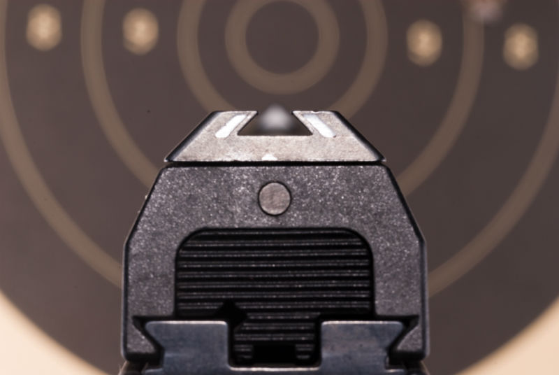 dovetailed handgun sights
