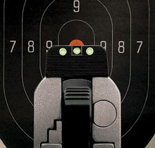 how to zero your pistol sights