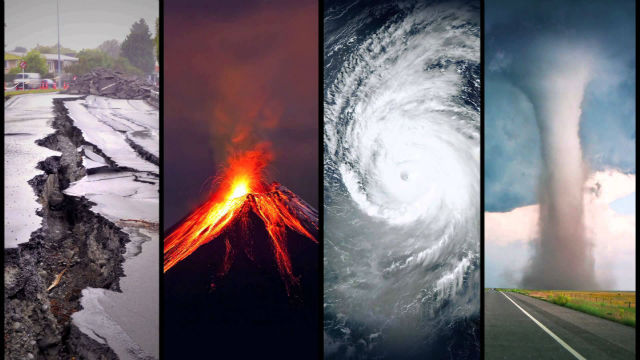 Natural Disasters are usually the source of a declaration for State of Emergency