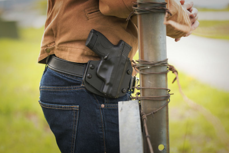 Can You Open Carry with an IWB Holster? | Gun Belts Blog