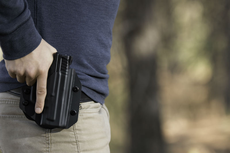 retention for paddle holster