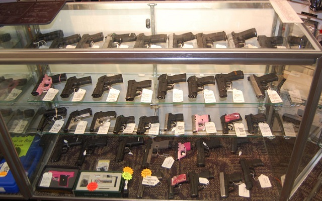 Selling your gun to a pawnshop or store