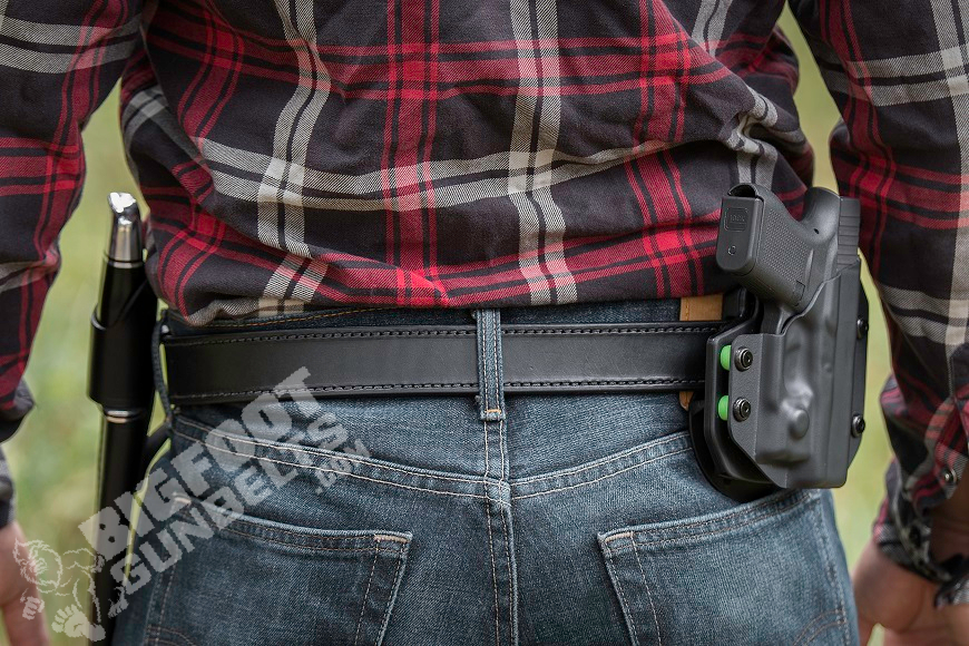 quality gun belt and holster to protect the trigger