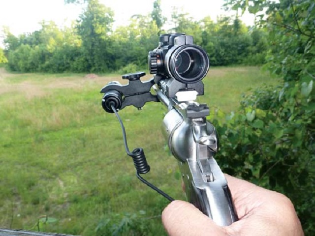 revolver hunting scope