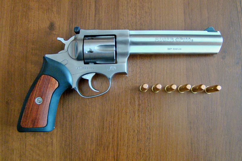 Ruger's GP100 is a great revolver to start with