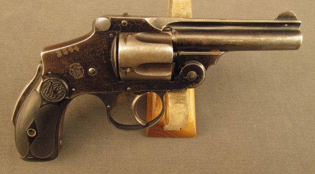 A C&R classified S&W Revolver
