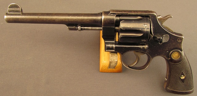 S&W M1917 Revolver chambered in .45