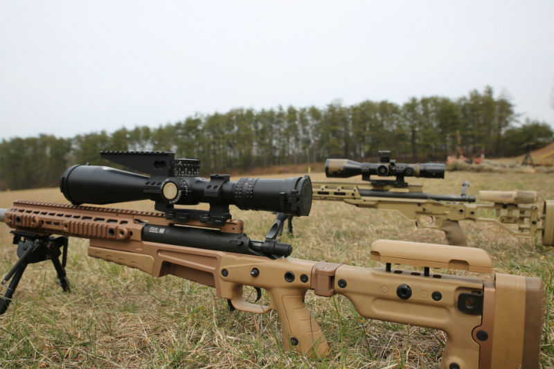 types of scout rifles